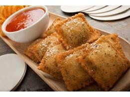 Fried Cheese Ravioli