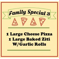 Family Special Pizza 3