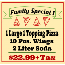 Family Special Pizza 1