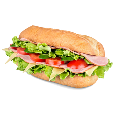 Ham and Cheese Sub W/Chips