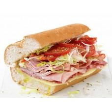 Half Ham and Cheese Sub W/Fries
