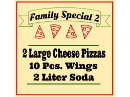 Family Special Pizza 2