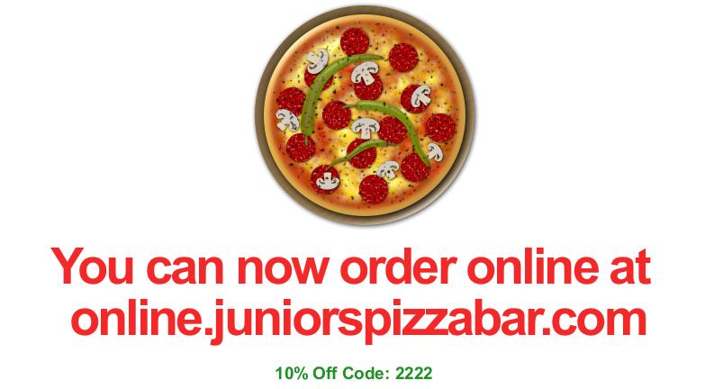 www.online.juniorspizzabar.com